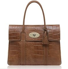 New Mulberry Icon Bayswater Handbag Printed In Oak 553813f9225b0