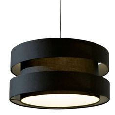 Suspension Moka noir, blanc ou marron - diamètre 50 cm, hauteur 25 cm, avec cable 160 cm, environ 65 euros New Chinese, Chinese Style, Moka, Luminaire Design, Cheap Furniture, Habitats, Living Room Designs, Sweet Home, Ceiling Lights