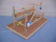 No.6 MEDIUM Bird Perch Playground
