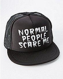 Normal People Scare Me Trucker Hat