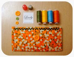 It's all about colorful fabrics, buttons and threads. <3