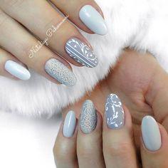 Winter Nails, Manicure, Nail Designs, Hair Beauty, Make Up, Nail Art, Painting, Women, Nail Ideas