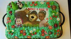 Torta Masha e orso