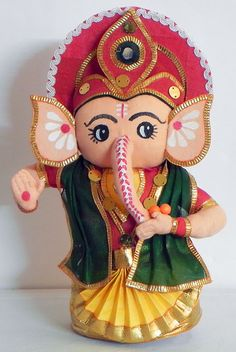 Ganesha for Babies Ganesh Chaturthi Decoration, Ganesh Chaturthi Images, Happy Ganesh Chaturthi, Ganesha Pictures, Ganesh Images, Pintura Ganesha, Dancing Ganesha, Baby Ganesha, Ganapati Decoration