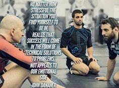 John Danaher Brazilian Jiu-jitsu quote BJJ