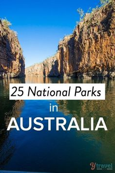 25 National Parks in Australia to set foot in. #australianvacation #AustraliaTravelHoneymoons