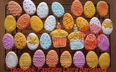Easter Pascuas  Huevos decorados
