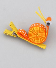 snail hair clip