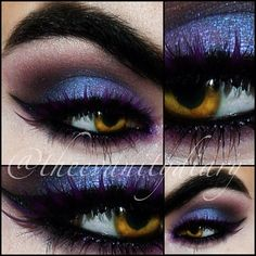 makeup make up beauty eyes eye shadow eyeshadow pretty beautiful dramatic goth gothic