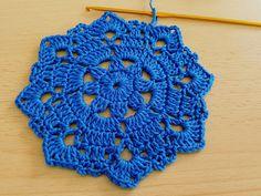 Crocheted  motif no  17