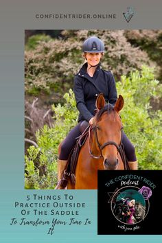 Five transferable practices that you can utilize and get better at wherever you find yourself sitting or standing now that will strengthen your mental and emotional muscles when you're out there with your horse. >> Confident Rider - mindset, movement and nervous system awareness for equestrians Horseback Riding Lessons, Emotional Resilience, Horse Riding Tips, Training Tips, Nervous System, Confident, Muscles, Equestrian, Mindset