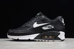 Nike Air Max 90 Max Triple Black Women's Running Shoes 325213 057