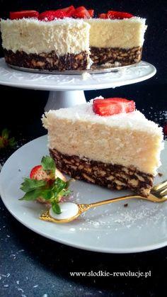 Słodkie rewolucje Pauliny. Domowe ciasta i ciasteczka na każdą okazję! Cheesecake, How To Eat Paleo, Cake Cookies, Vanilla Cake, Sweet Tooth, Sweet Treats, Food And Drink, Yummy Food, Sweets