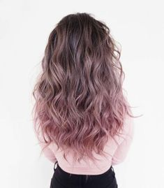 145 ombre hair looks that diversify common brown and blonde ombre hair 38 Hair Dye Colors, Cute Hair Colors, Ombre Hair Color, Cool Hair Color, Dyed Hair Ombre, Hair Inspo, Hair Inspiration, Dye My Hair, Dyed Ends Of Hair