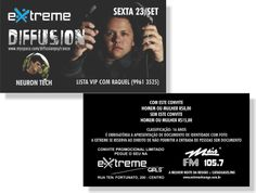 Diffusion - Extreme (Convite)