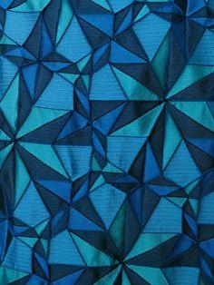 kaleidoscope pattern dress