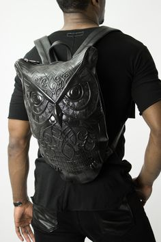 Differio Glimms Stylish Owl Backpack