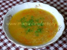 Rychlá a zdravá polévka Cantaloupe, Food And Drink, Pizza, Soup, Fruit, Ethnic Recipes, Soups, Chowder