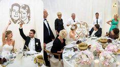 Modern porté esküvőre