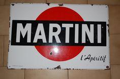 PLAQUE EMAILLEE MARTINI – Luckyfind