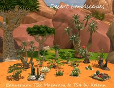 Sims 4 CC's - The Best: TS2 to TS4 Plants & Flowers Mega Pack by Xelenn