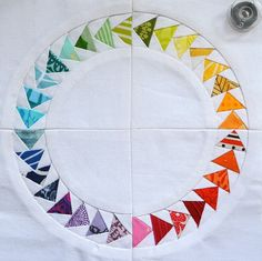 by She Can Quilt - she has a link to the pattern as well. reduce the size by about 50%.