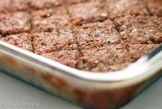 PANELATERAPIA - Blog de Culinária, Gastronomia e Receitas: Quibe de Carne com Berinjela