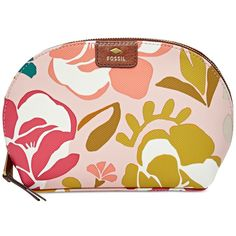 Fossil Mother's Day Makeup Case (37,610 KRW) ❤ liked on Polyvore featuring beauty products, beauty accessories, bags & cases, pink floral, toiletry kits, toiletry bag, cosmetic bag, purse makeup bag and make up bag