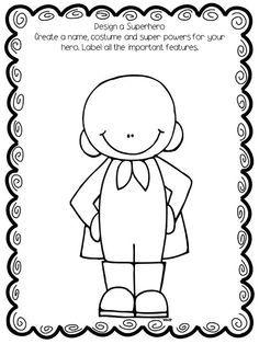 First Grade Wow, superhero poem | Classroom/tchr stuff | Pinterest ...