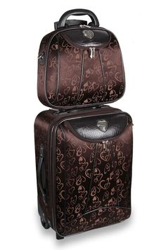 Carry-on Luggage Collections Cute Luggage, Best Carry On Luggage, Large Luggage, Luggage Sets, Designer Luggage, Brighton Handbags, Cosmetic Case, Travel Accessories, Travel Style