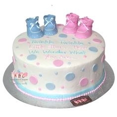 Gender Reveal Archives - ABC Cake Shop & Bakery