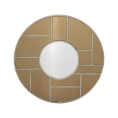 This vintage-inspired wall mirror accents the look of a home that loves 1920s glamour. Hang in a room with other gold and brass accents for a chic, old-fashioned look that's already spreading in popula...  Find the Dorris Glamour Mirror, as seen in the Art Deco Design Collection at http://dotandbo.com/collections/art-deco-design?utm_source=pinterest&utm_medium=organic&db_sku=100125