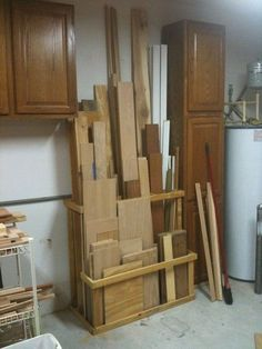 Storage In Garage- CLICK THE PIC for Lots of Garage Storage Ideas. #garage #garagestorage