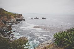 Big Sur, CA / photo by Evynn LeValley http://ruffledblog.com/anderson-canyon-wedding #bigsur #honeymoon