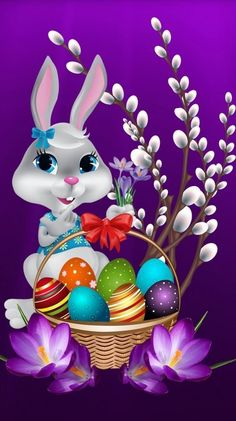 Wallpaper by - 33 - Free on ZEDGE™ now. Browse millions of popular easter Wallpapers and Ringtones on Zedge and personalize your phone to suit you. Browse our content now and free your phone Happy Easter Wallpaper, Holiday Wallpaper, Halloween Wallpaper, Easter Backgrounds, Halloween Backgrounds, Easter Art, Easter Crafts, Easter Bunny Pictures, Images Wallpaper