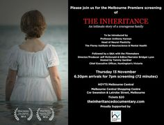 Australian documentary about Huntington's Disease