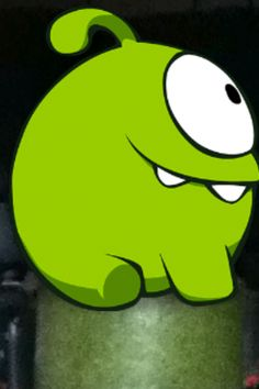 It's om nom from cut the rope