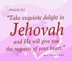 Requests of your heart....