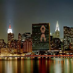 World AIDS Day, 1 December, is an opportunity to highlight the work of eliminating HIV/AIDS. Aids Awareness, World Aids Day, United Nations, Vulnerability, Highlight, Opportunity, New York Skyline, Survival, Lights