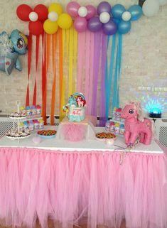 My little  pony temalı 4 yaş doğum günü organizasyonu -Zeynep  ve Naz