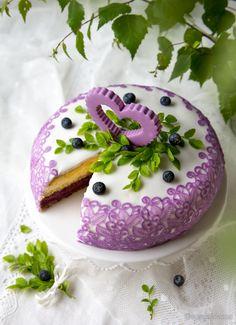 Mustikkaunelma | Kinuskikissa - Suomen suosituin leivontayhteisö