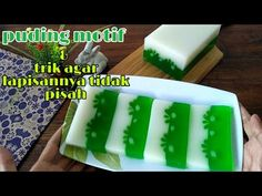 Agar agar motif / puding motif - YouTube Agar, Ice Cube Trays, Plastic Cutting Board, Youtube, Ice Makers, Youtubers, Youtube Movies