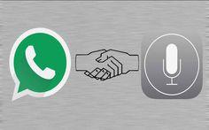 WhatsApp Mesajlarına Siri Desteği !
