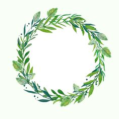 Greenery Wreath Watercolor Wreath Botanical Wreath Wedding