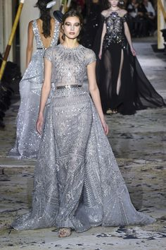 The complete Zuhair Murad Spring 2018 Couture fashion show now on Vogue Runway.