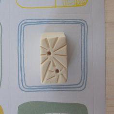 Clay stamp for creation Ceramic stamp Ceramic by TreasureCraftsBox