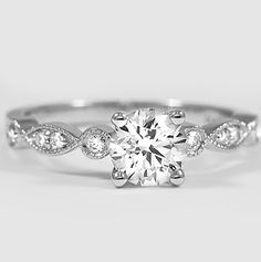 The enchanting Tiara Diamond Ring.
