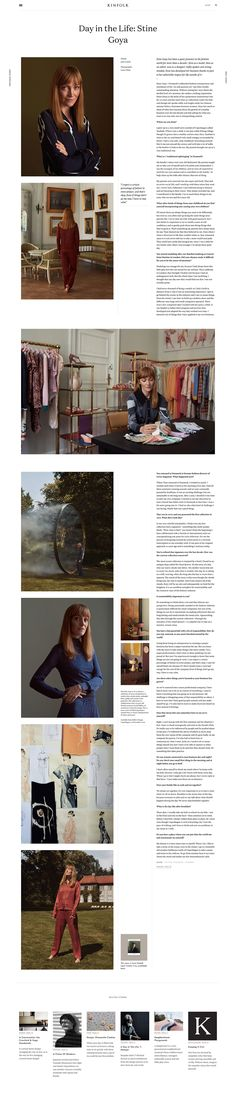 Kinfolk website design and layout. Creative Web Design, Creative Studio, Packaging Design Inspiration, Web Design Inspiration, Magazine Examples, Well Designed Websites, Cover Style, Kinfolk, Le Web