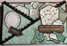 annes papercreations: Kaisercraft Blue bay 9 x 6 mini album part 2