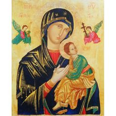 Obraz na dreve: Matka ustavičnej pomoci - ikona | 13,58€ - obrázok